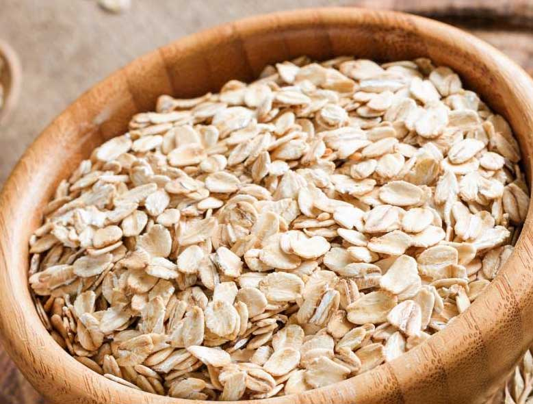 raw-oats-best protein foods for losing weight