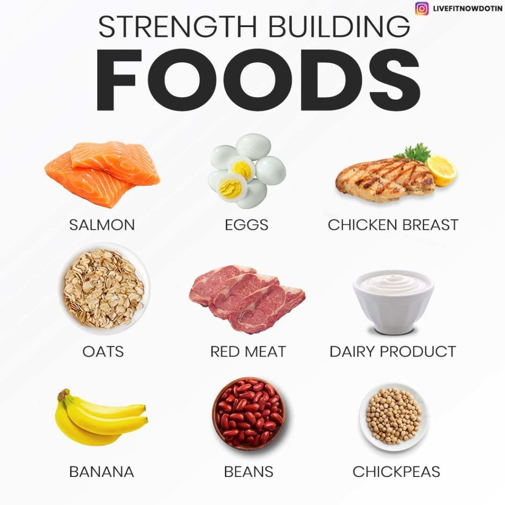 foods to build strength and muscles